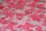 Bath Confetti - Heart Rose
