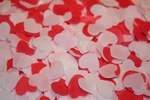 Bath Confetti - Heart Strawberry